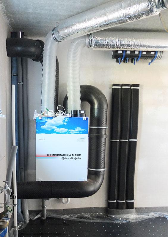 Impianti di Ventilazione Meccanica Controllata