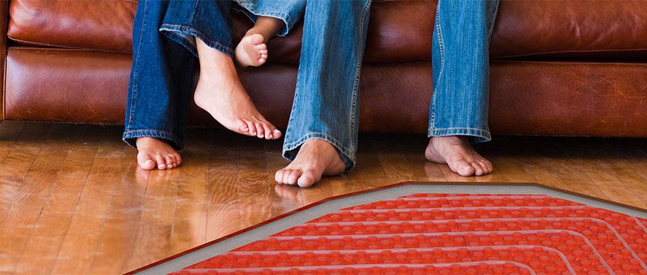 Installazione impianti di riscaldamento radianti a pavimento parete o soffitto moderni ed efficienti