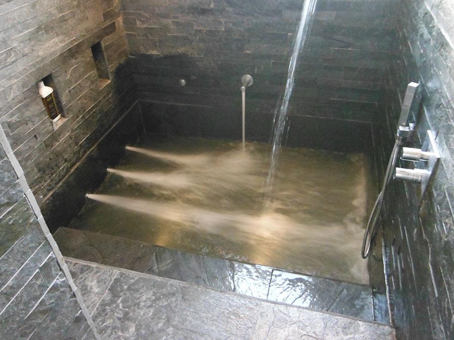 Area relax   installazione di hammam, saune, vasche idromassaggio ...